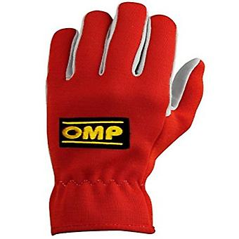 Gloves OMP Rally Red (M)