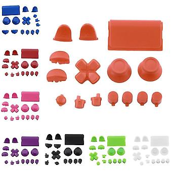 Replacement Buttons Custom Mod Kit For Ps4 For Playstation 4 Controller Solid Color