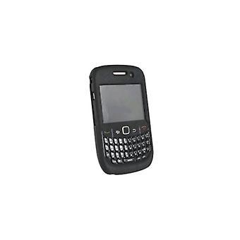 WirelessXGroup Rubberized Protective Shield for Blackberry 8530/8520 - Black