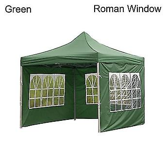 New Outdoor Party Waterproof Oxford Cloth Tents Gazebo Accessories Rainproof Canopy Cover(green)