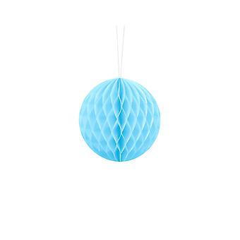 10cm Light Blue Tissue Paper Honeycomb Ball Wedding Party Decoration