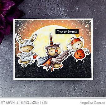 """Meine Lieblingsdinge Stacey Yacula Briefmarken 4""""X8"""" - Spooktacular Friends"""