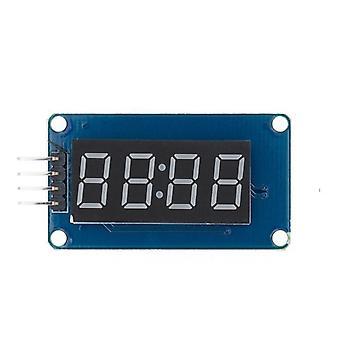 Tm1637 4 Bits Digital Led Display Module For Arduino 7 Segment 0.36inch Clock