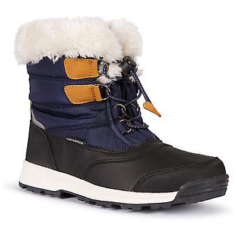 Trespass Girls Ratho Waterproof Insulated Winter Snow Boots
