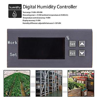 Lightweight Led Digital Thermostat Temperature Humidity Controller Meter