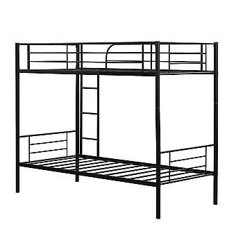 Eenpersoons stapelbed 2 x 3 ft metalen bed frame