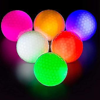 3pcs Glow Balles de golf Led Balles de golf Briller dans le golf sombre