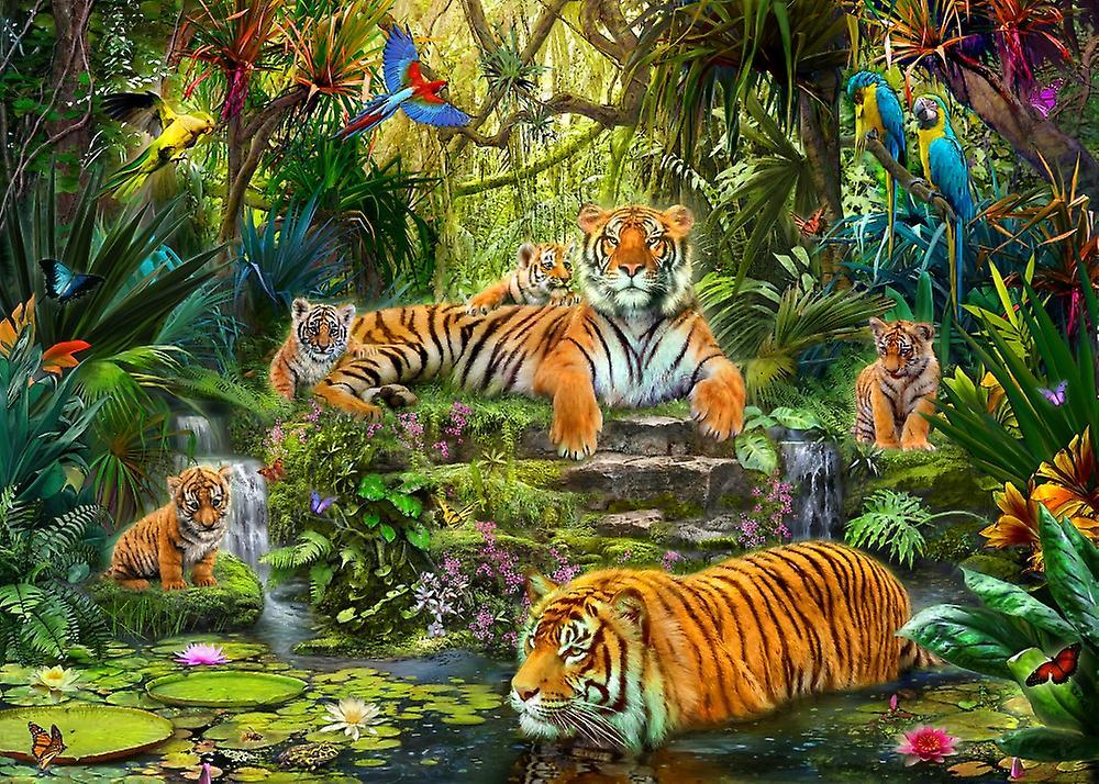 Сколько тигров на картинке правильный
