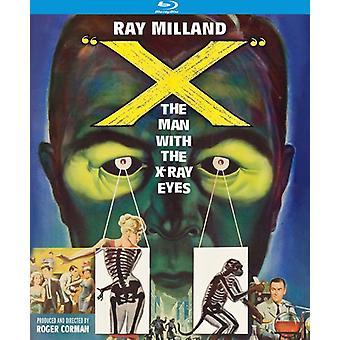 X: el hombre con los ojos de rayos x (1963) [BLU-RAY] USA importar