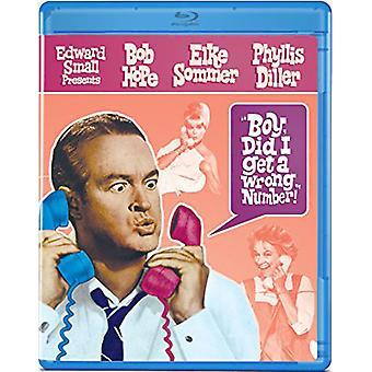 Ragazzo ho ricevuto un'importazione di numero sbagliato [Blu-ray] USA