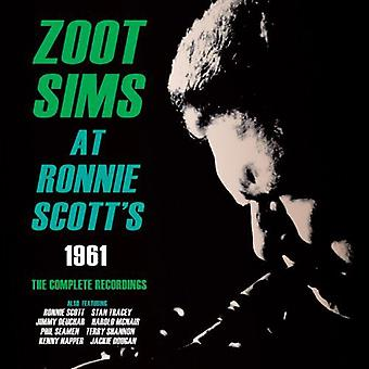 Zoot Sims - o Ronnie Scott 1961: import USA pełne nagrania [CD]