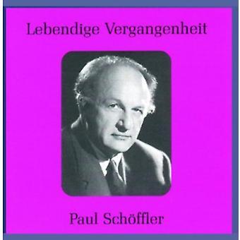 Paul Schoffler - Lebendige Vergangenheit: Paul Sch Ffler [CD] USA import