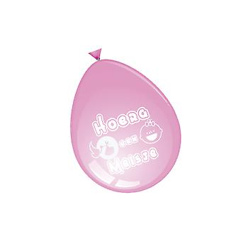Balloon and balloon accessories  Balloons it's a girl 30 cm 8 pieces