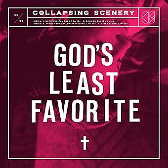 Collapsing Scenery - God's Least Favorite [Vinyl] USA import