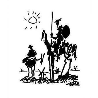 Don Quijote - Pablo Picasso juliste Juliste Tulosta