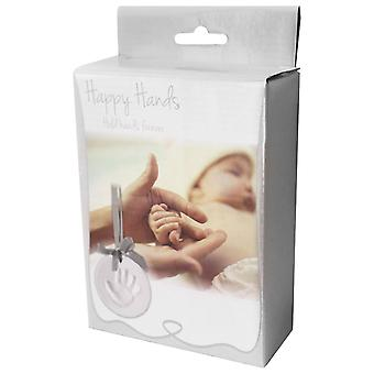 Xplorys Happy Hands Hand Print Ornament Kit Keepsake