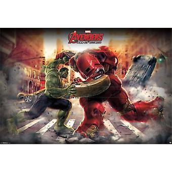 Impressão de cartaz mural - Vingadores 2 - Hulk