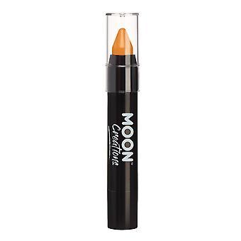 Face à bâton / maquillage Crayon de corps pour le visage & corps par lune Creations - 3,5 g - Orange