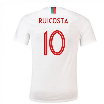 2018 / 2019 Portugal Away Nike Fußballtrikot (Rui Costa 10)