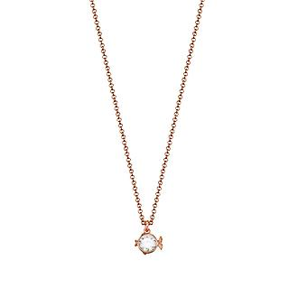 ESPRIT ladies chain stainless steel Rosé PISCES fish ESNL03217C420