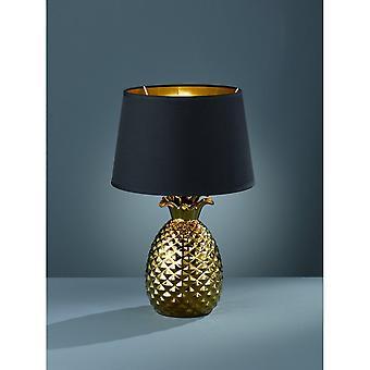 Trio oświetlenie ananas nowoczesny złota ceramiczne lampy stołowej