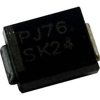 زينر بانجيت 1SMB5924 صمام ثنائي الضميمة نوع (أشباه الموصلات) 214AA الجهد Zener 9.1 V P(TOT) الطاقة (كحد أقصى) 1.5 W