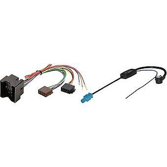 Phonocar ISO Autofunkkabel Kompatibel mit: Audi, Opel, Seat, Skoda, Volkswagen