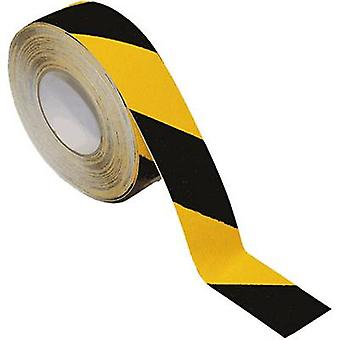 B-SAFETY AR206100-GS Universal anti-slip coating Amarelo, Preto (L x W) 18,3 m x 100 mm