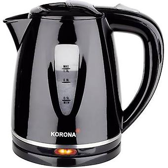 Korona 1L Wasserkocher Kettle cordless Black