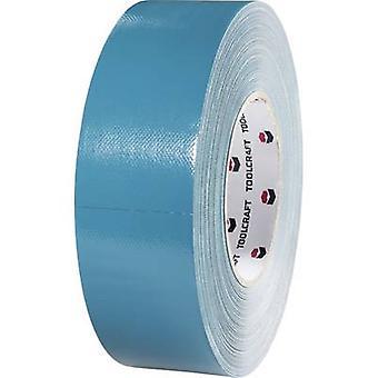 TOOLCRAFT 829B48L25C 829B48L25C Cloth tape 829B48L25C Blue, Grey (L x W) 25 m x 48 mm 1 pc(s)
