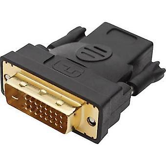 club3D DVI / HDMI Adapter [1x DVI plug 25-pin - 1x HDMI socket] White