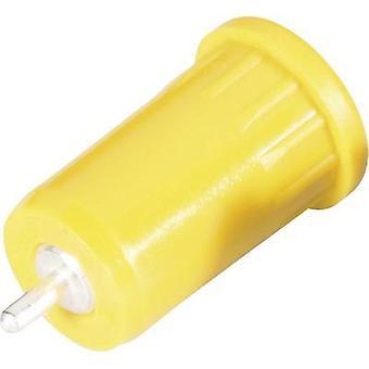 Schnepp BU 4800 ge Safety jack socket Socket, vertical vertical Pin diameter: 4 mm Yellow 1 pc(s)