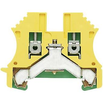 WPE protective conductor terminal blocks WPE 35N 1717740000 Green, Yellow Weidmüller 1 pc(s)