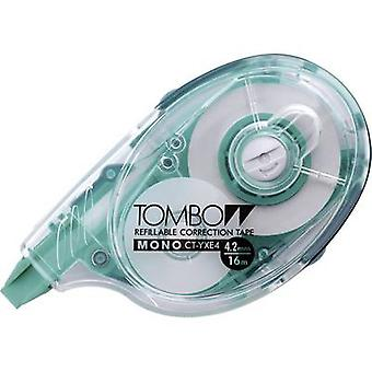 Tombow Correction tape roller MONO CT-YXE4 4.2 mm White 16 m 1 pc(s)