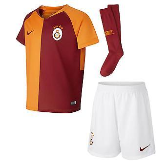 2018-2019 Galatasaray Home Nike Little Boys Mini Kit