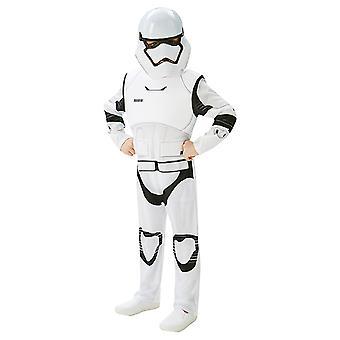 Stormtrooper Deluxe Star Wars barn kostume oprindelige kostume