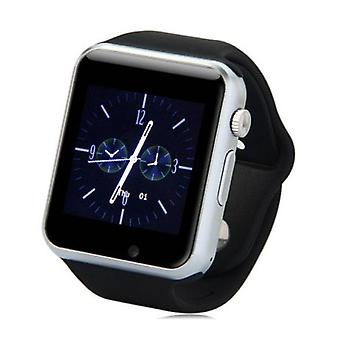 Coisas certificadas® Original A1 / W8 Smartwatch Smartphone Fitness Sport Activity Tracker Watch OLED Android iOS iPhone Samsung Huawei Black