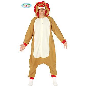 Lion de lion pyjama costume costume costume animal