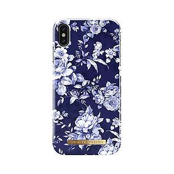 iDeal de Suecia iPhone XS Max shells-Sailor Blue Bloom