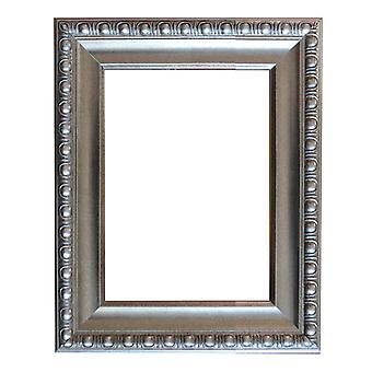 50x70 سم أو 20x28 بوصة، إطار الخشب الفضي