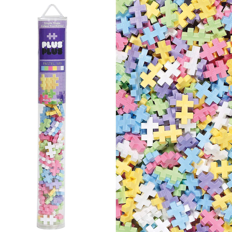 PLUS PLUS Mini Pastel rør Mix (100 stk)