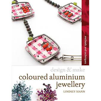 Coloured Aluminium Jewellery by Lindsey Mann