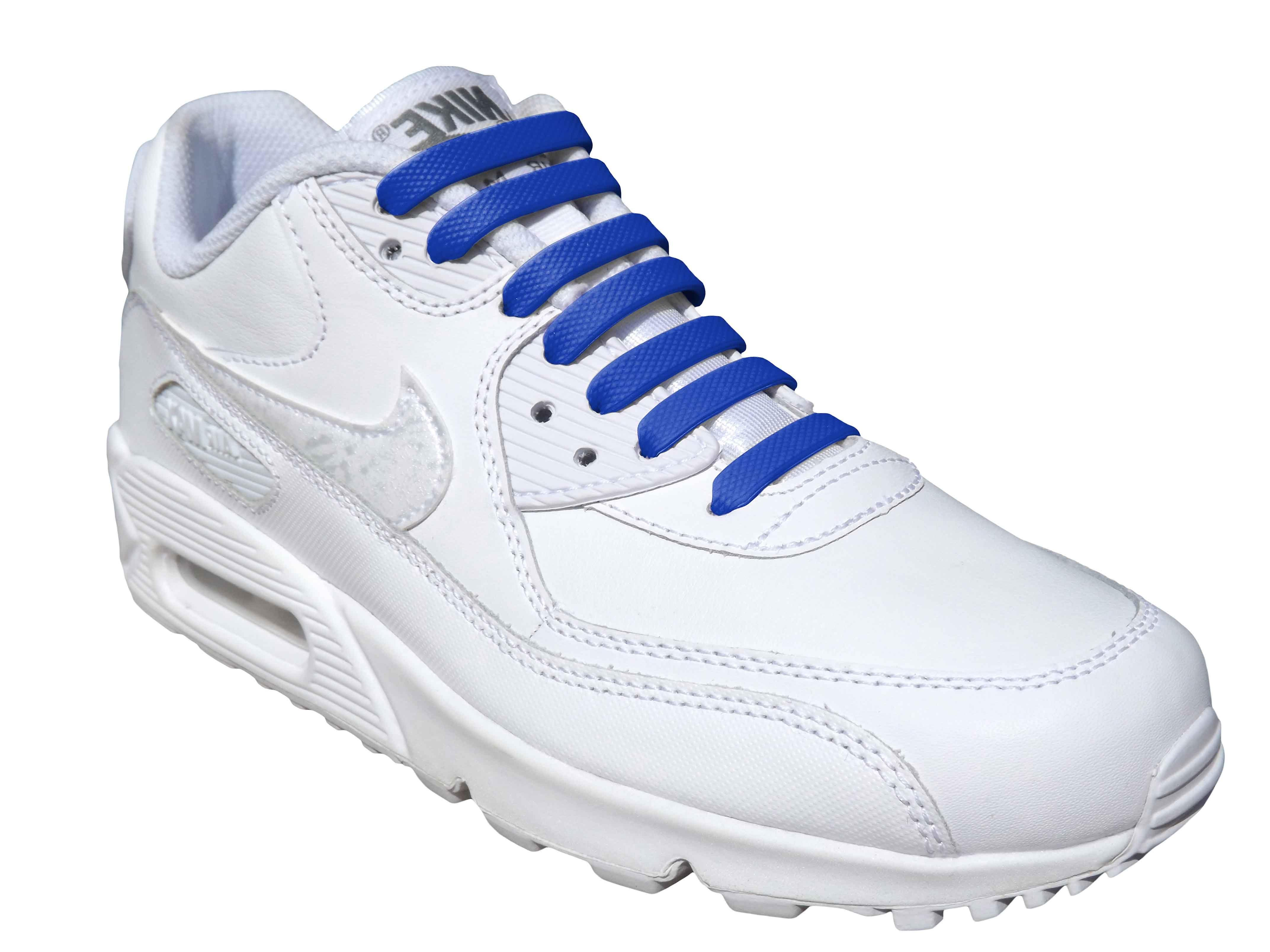 Blue Adults Easy No Tie For Trainers