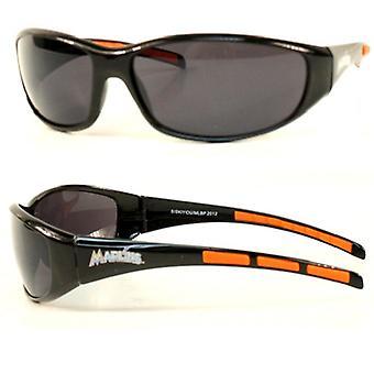 Miami Marlins MLB Wrap Sport Sunglasses