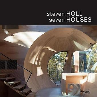 Steven Holl - Seven Houses by Steven Holl - 9780847861590 Book