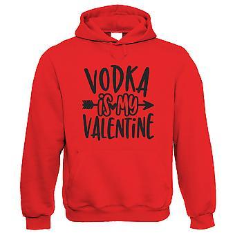 Wodka is mijn Valentijn, Hoodie - Grappige Valentijnskaarten Gift Him Her