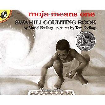Moja middel één: Swahili tellen boek
