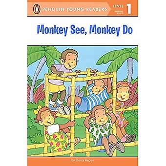 Monkey See, Monkey Do (All Aboard Reading: Level 1)
