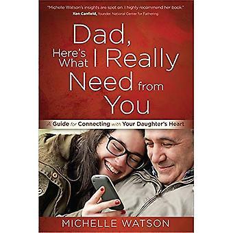 Papa, hier is wat ik echt nodig van u