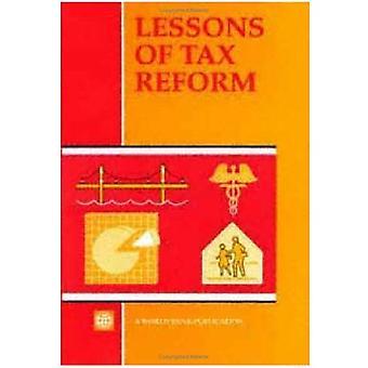 Enseignements de la réforme fiscale